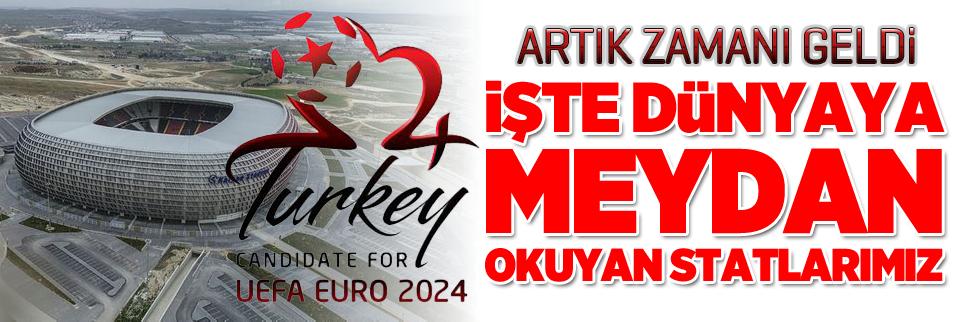 Türkiye, EURO 2024 hazır! İşte dünyaya meydan okuyan statlarımız...
