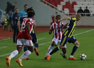 Demir Grup Sivasspor - Fenerbahçe maçından kareler
