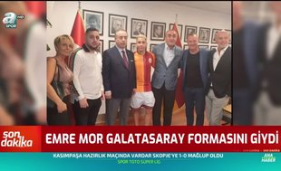 Emre Mor Galatasaray formasını giydi!