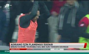 Adriano için Flamengo iddiası