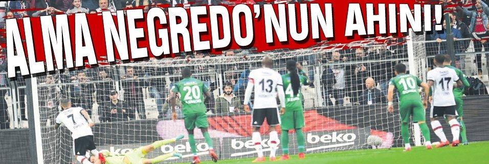 Alma Negredo'nun ahını!