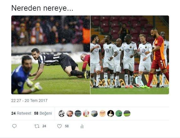 Cimbom, Avrupa'dan elendi, sosyal medya çıldırdı!