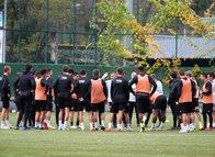Beşiktaş Sarpsborg maçı hazırlıklarını sürdürdü