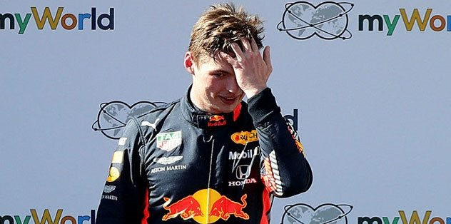 Avusturya'daki yarışında Verstappen kazandı