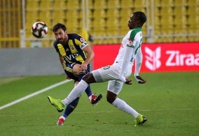 Fenerbahçe - Giresunspor maçından kareler!