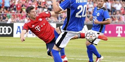 Bayern Münih hazırlık maçını 20-2 kazandı