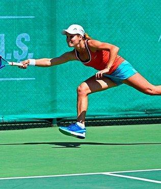 60 bin Dolar ödüllü Uluslararası Lale Cup Tenis Turnuvası başladı
