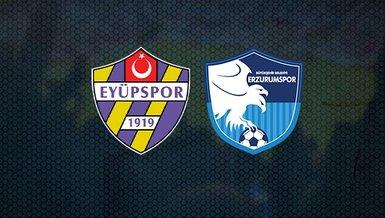 Eyüpspor - Erzurumspor maçı ne zaman? Saat kaçta? Hangi kanalda canlı yayınlanacak? İşte detaylar...
