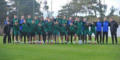 Bursaspor'un kampı başladı