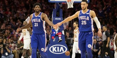 Philadelphia 76erslı Simmons'ın rekorlar maçı!