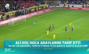 İşte Fenerbahçe'nin hoca adayları