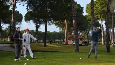 Balkan Golf Şampiyonası'na start verildi