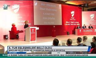 Ziraat Türkiye Kupası 4. Tur eşleşmeleri belli oldu!