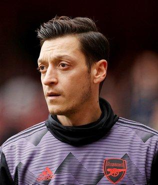 """Mesut Özil noktayı koydu! """"Son güne kadar Arsenal'de kalacağım"""""""
