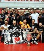 """Beşiktaş Mogaz'ın """"dalya"""" heyecanı"""