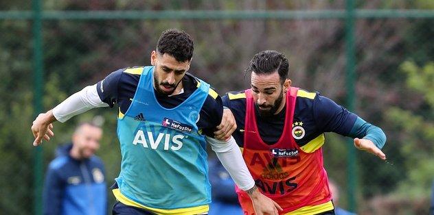 Fenerbahçe Denizlispor hazırlıklarını sürdürdü