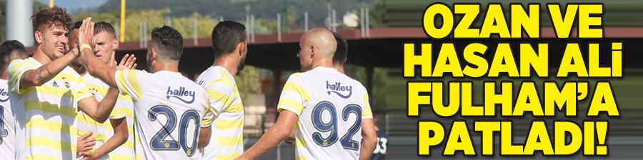 Fenerbahçe Premier Lig ekibini 3 golle yendi