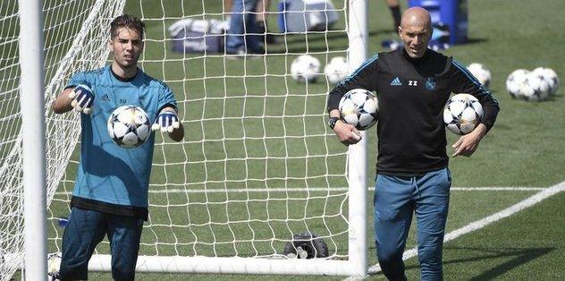 Real Madrid Luca Zidane ile sözleşme yenilememe kararı aldı - çağrısı -