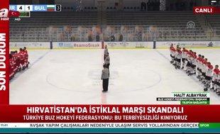 Türkiye Buz Hokeyi Federasyonu Başkanı Halit Albayrak: Bu terbiyesizliği kınıyoruz