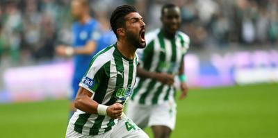 Bursaspor puanları alt sıralardan topladı