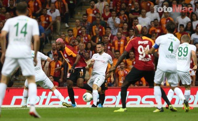 Galatasaray - Konyaspor maçından kareler...