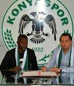 Konyaspor, Diagne ile sözleşme imzaladı