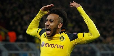 Arsenal sign Aubameyang for record fee