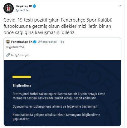 son dakika fenerbahcede corona virusu soku bir futbolcu 1598262724135 - Son dakika: Fenerbahçe'de corona virüsü şoku! Bir futbolcu...