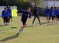 Hatayspor Altay maçı hazırlıklarını sürdürüyor