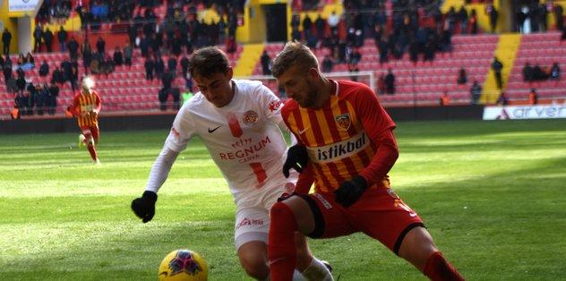Hes Kablo Kayserispor 2-2 Fraport TAV Antalyaspor | MAÇ SONUCU