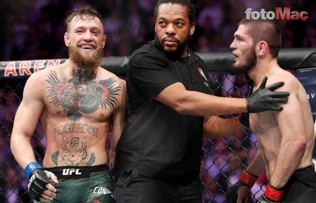 McGregor'dan Khabib'e büyük ahlaksızlık!