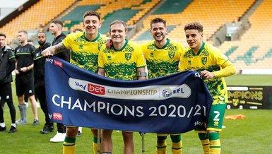 İngiltere Premier Lig'e çıkan son takım Norwich City!