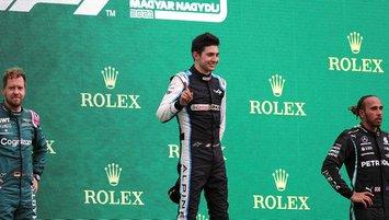 F1 Macaristan Grand Prix'sinde zafer Ocon'un