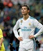 Ronaldo'ya ret