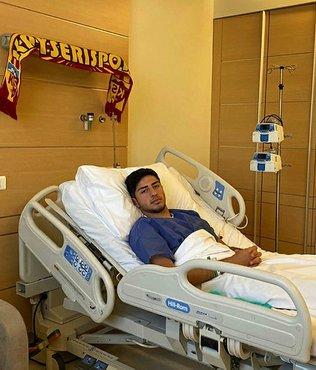 Kayserispor'da Nurettin Korkmaz ameliyat oldu