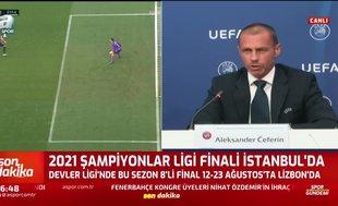 Ve UEFA kararını verdi! Şampiyonlar Ligi ve Avrupa Ligi...