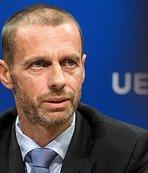 UEFA Başkanı bunu dedi! Zlatan İbrahimovic...