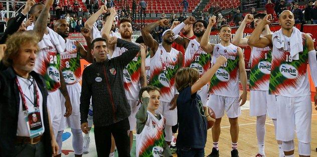 Pınar Karşıyaka 88-67 Kiev Basket | MAÇ SONUCU
