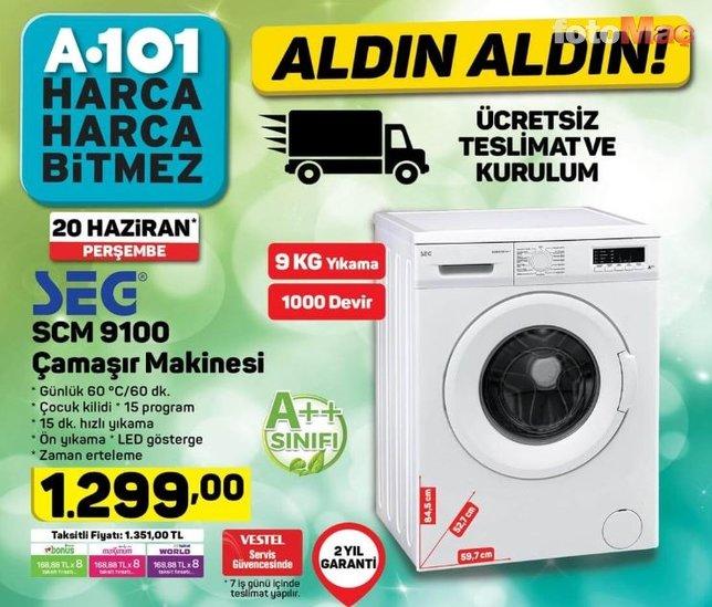 A101 aktüel ürünler kataloğu yayında! (20 Haziran 2019)