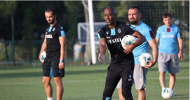 Trabzonspor'da Eddie Newton yönetiminde ilk antrenman! İşte idmandan kareler