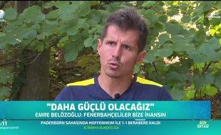 Emre Belözoğlu'ndan mesaj: Daha güçlü olacağız