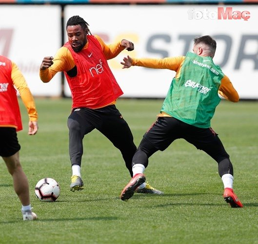 Galatasaray antrenmanından fotoğraflar (17 Nisan 2019)