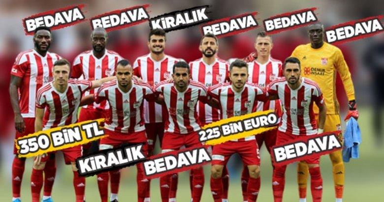 Lider Sivasspor'un kadro maliyeti herkesi şaşırttı!
