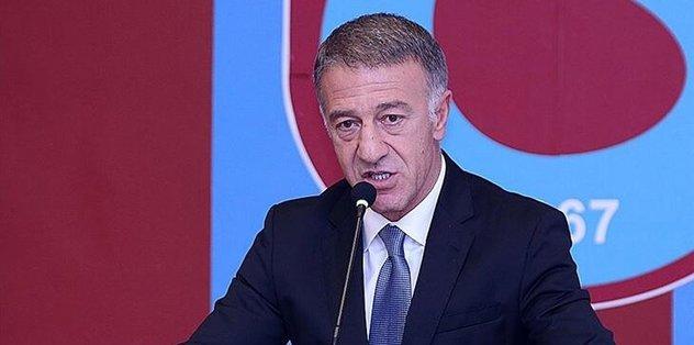 Trabzonspor Başkanı Ahmet Ağaoğlu'ndan CAS kararına sert tepki!