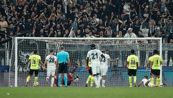 Beşiktaş penaltı bekledi!