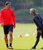 Mourinho'dan Ibrahimovic'e veto