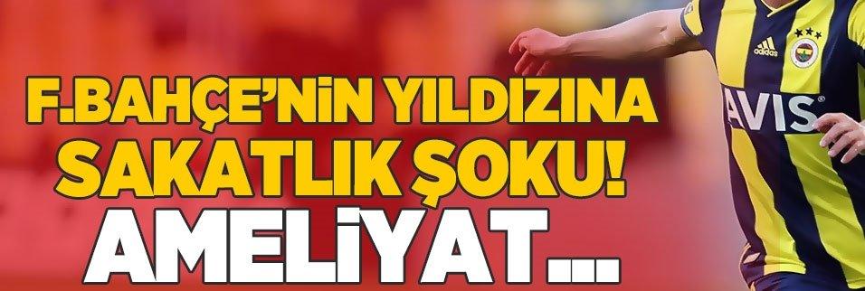 Fenerbahçe'de sakatlık şoku! Ametliyat riski...