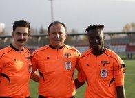 Türkiye'nin ilk Ganalı hakeminin hedefi Süper Lig