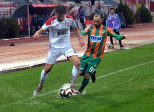 Kahramanmaraşspor-Alanyaspor maçından kareler