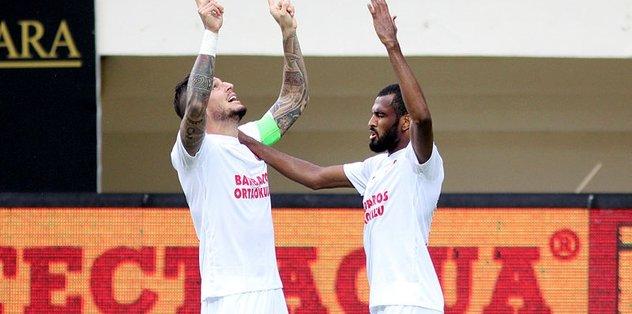 Derbide kazanan Antalyaspor!